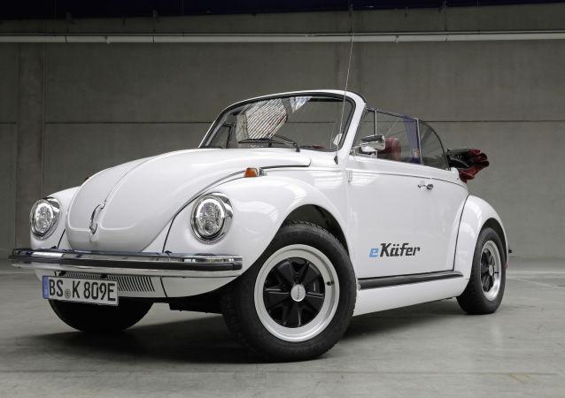 El nuevo modelo eléctrico del tradicional Beetle