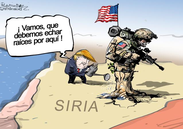 EEUU echa raíces en Siria