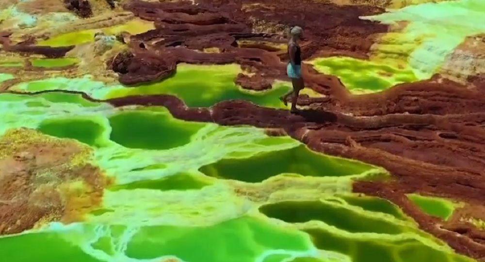 El desierto africano de Danakil