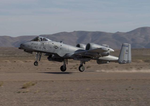 Un avión de asalto A-10 Thunderbolt