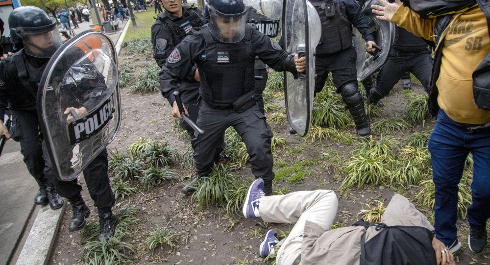 Protestas en Buenos Aires, Argentina