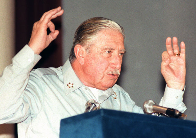 Augusto Pinochet, dictador chileno (archivo)