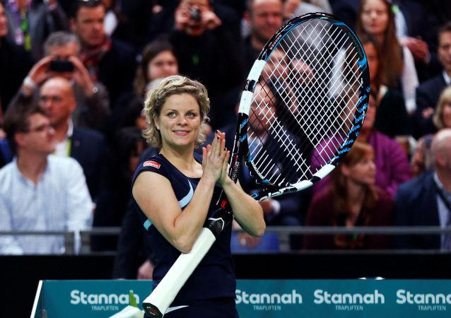 Kim Clijsters, jugadora de tenis, ex primera raqueta del mundo