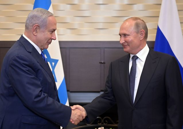 El primer ministro israelí, Benjamín Netanyahu, se reúne con el presidente ruso, Vladímir Putin, en Sochi