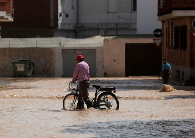 Las lluvias en España