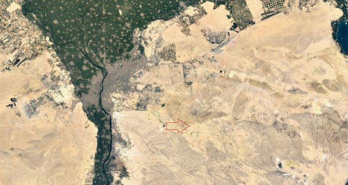 Ubicación del nuevo complejo del Ministerio de Defensa egipcio a las afueras de Cairo