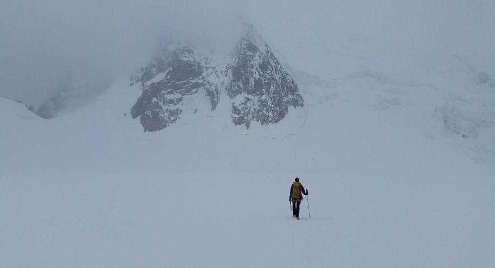 Una expedición de montaña, referencial