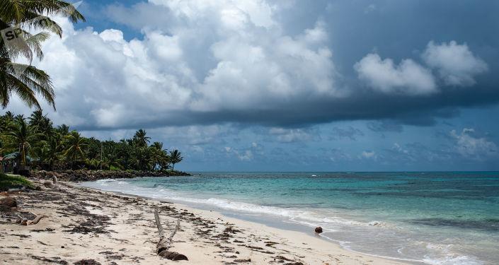 Vista de Big Corn Island