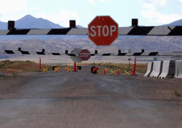La entrada al Área 51