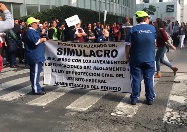 Así vivieron la evacuación en los rascacielos de Ciudad de México