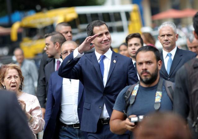 El diputado opositor venezolano, Juan Guaidó