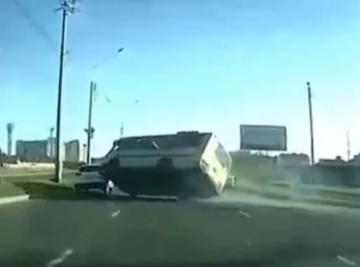 Accidente de tráfico en Stávropol