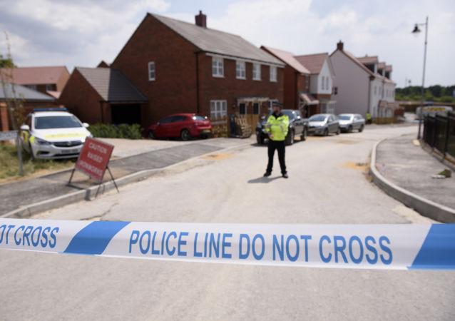 Lugar del envenenamiento en Amesbury, Reino Unido