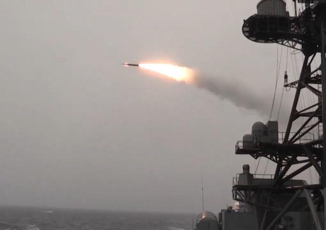 Los buques de la Armada rusa muestran todo su poderío