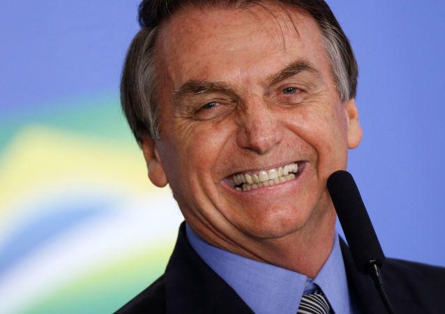 Jair Bolsonaro, presidente de Brasil, interviene en la 74 sesión de la Asamblea General de la ONU