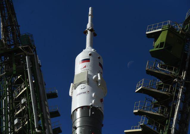 La nave espacial rusa Soyuz MS-15