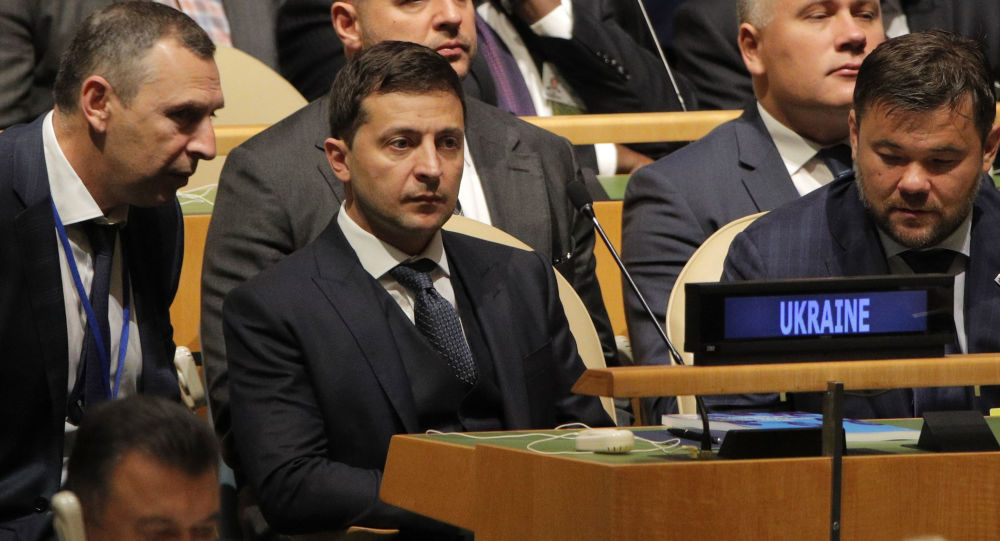 El presidente de Ucrania, Volodímir Zelenski