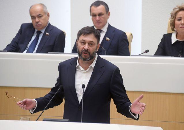 Kiril Vishinski, el director del portal RIA Novosti Ukraina