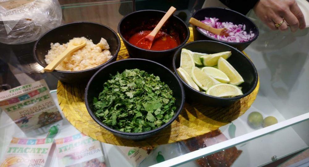 Los alimentos mexicanos en la feria alimentaria internacional WorldFood en Moscú