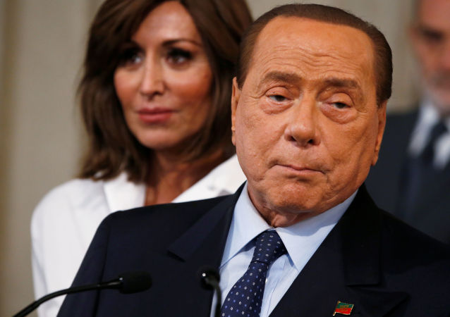 Silvio Berlusconi, el ex primer ministro de Italia