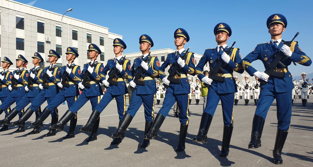 China ensaya el mayor desfile militar de su historia
