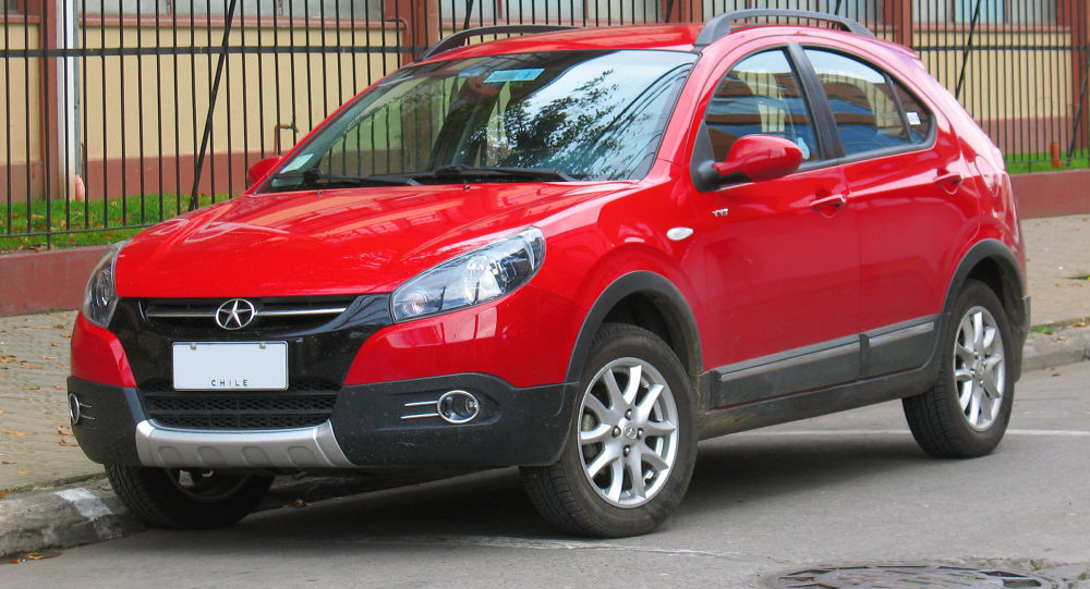 Un JAC J3 Cross de Chile