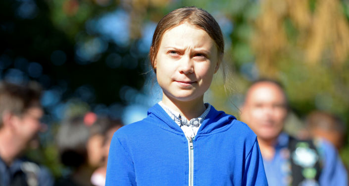 Greta Thunberg, ambientalista sueca