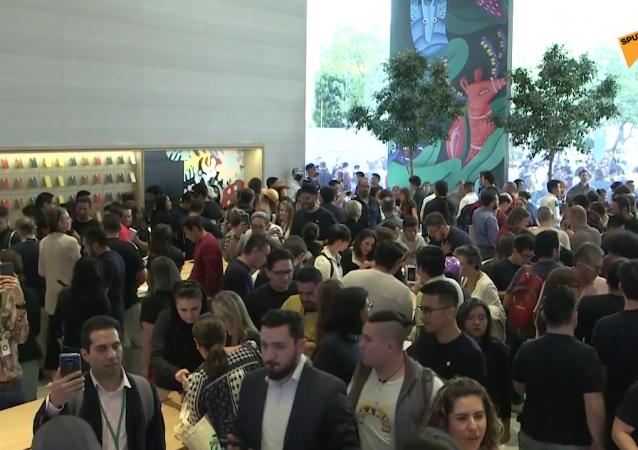 Inauguran la primera tienda 'flagship' de Apple en México