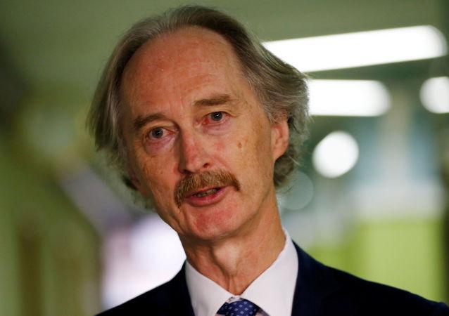 Geir Pedersen, enviado especial de la ONU para Siria