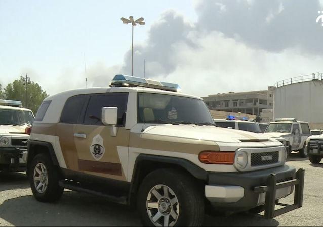 Incendio en Arabia Saudí (imagen referencial)