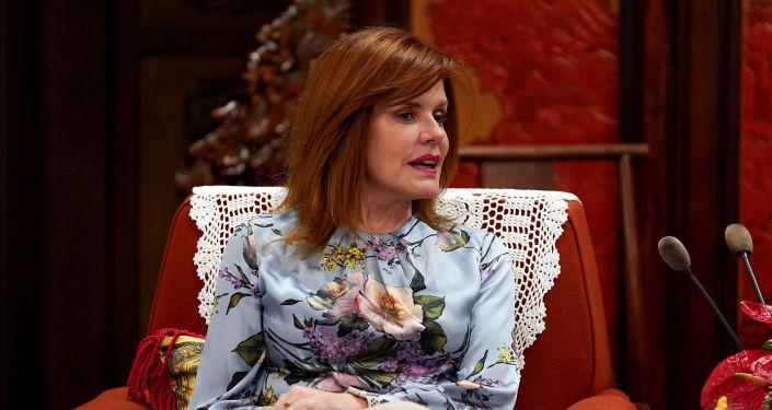 Mercedes Aráoz, presidenta en funciones de Perú