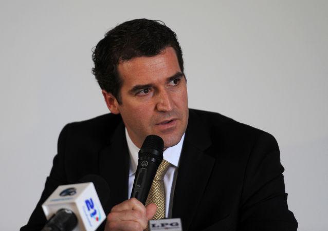 Enrique Sanz, el ex secretario general de la Confederación de Fútbol de Norteamérica, Centroamérica y el Caribe (Concacaf)
