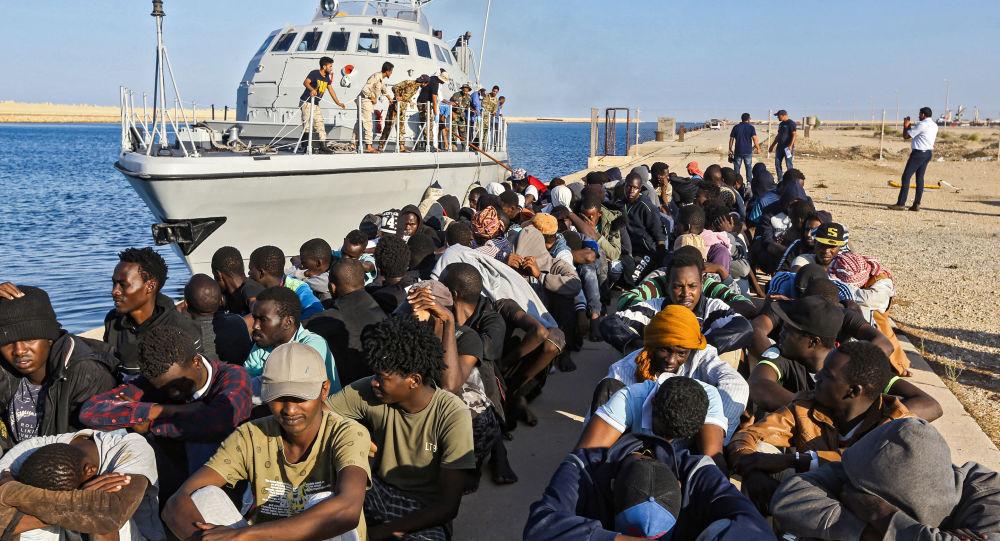 Migrantes de Libya