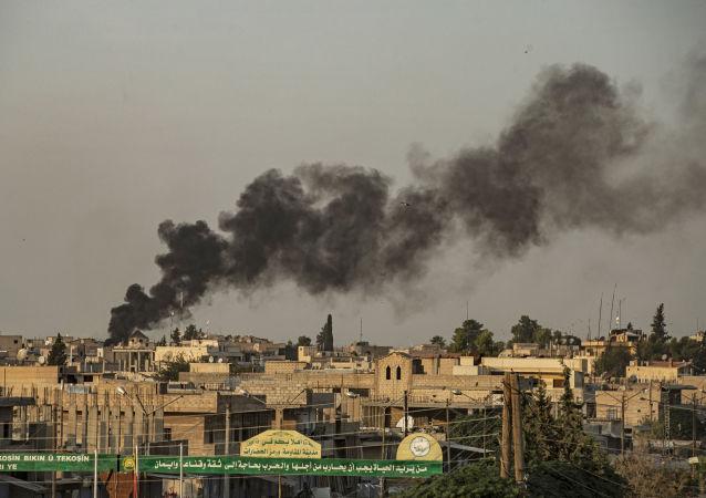 El bombardeo de Turquía en Siria