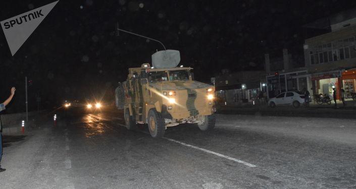 Las fuerzas turcas en el norte de Siria