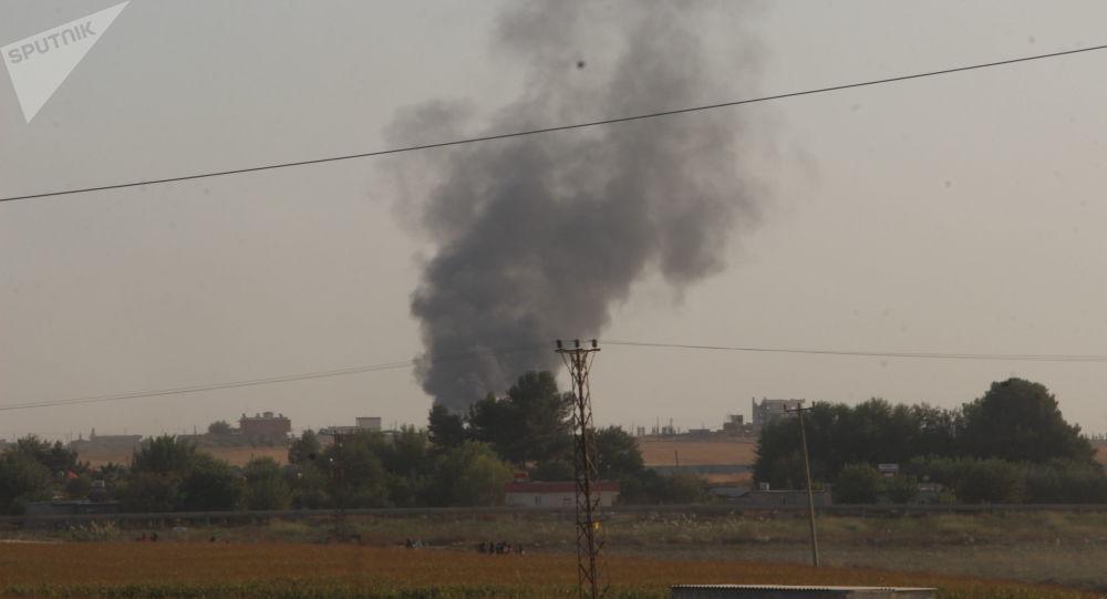 El bombardeo de Turquía en el norte de Siria