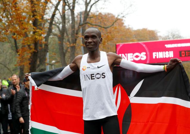 Eliud Kipchoge, maratonista