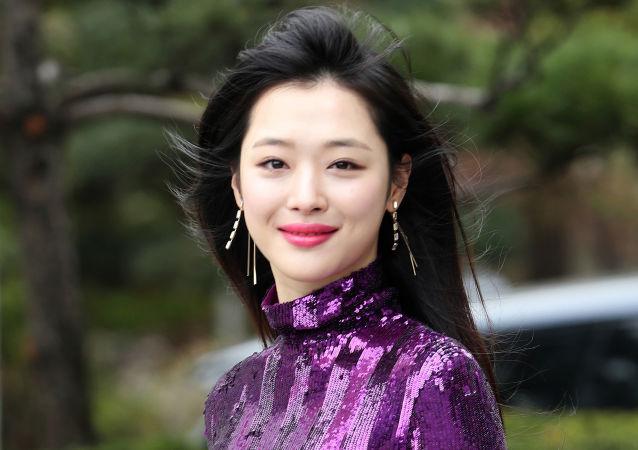 Sulli, cantante surcoreana