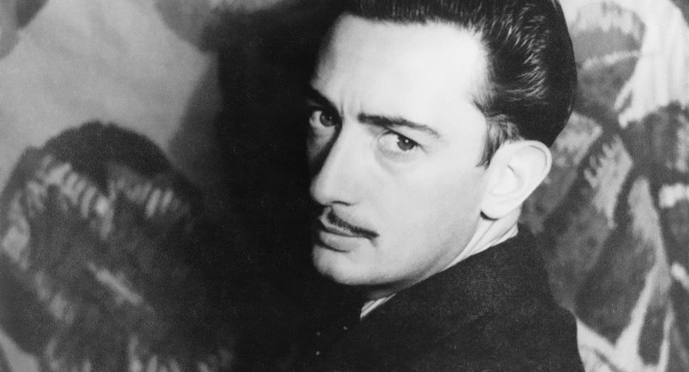 Salvador Dalí, pintor español