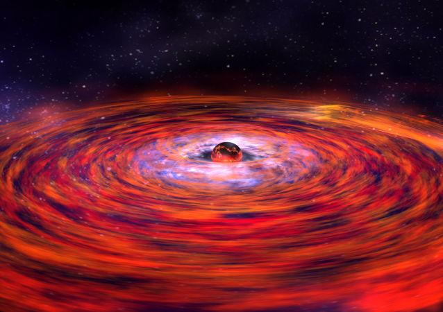 La explosión de una estrella de neutrones