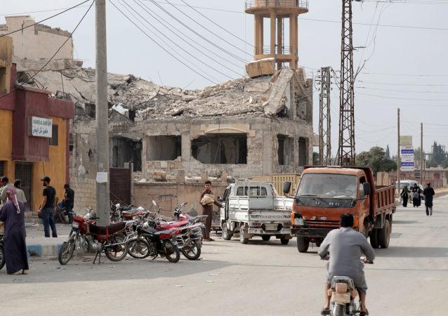 La ciudad siria Tal Abiad tras los ataques turcos