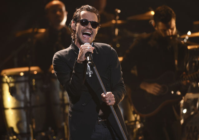 Marc Anthony en los Latin American Music Awards