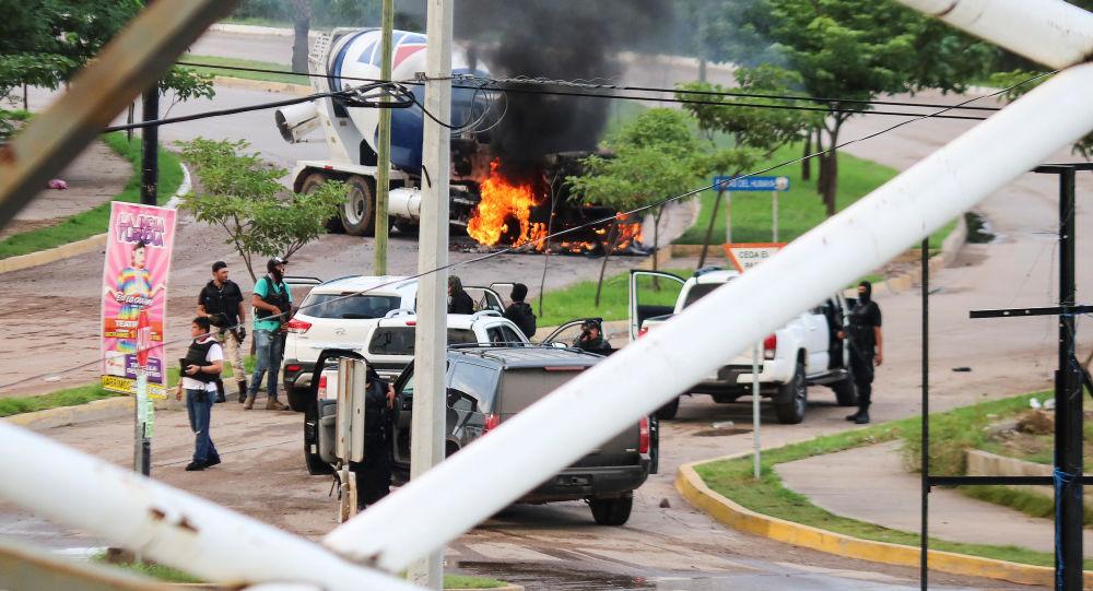 Disturbios en México tras la liberación del hijo de Chapo