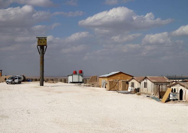 Una base militar de EEUU en Al Hasaka, Siria