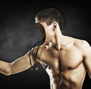 Un robot humanoide