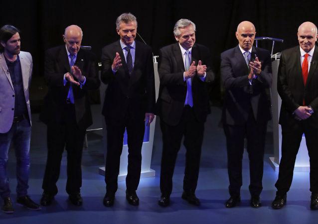 Los candidatos a la Presidencia de Argentina