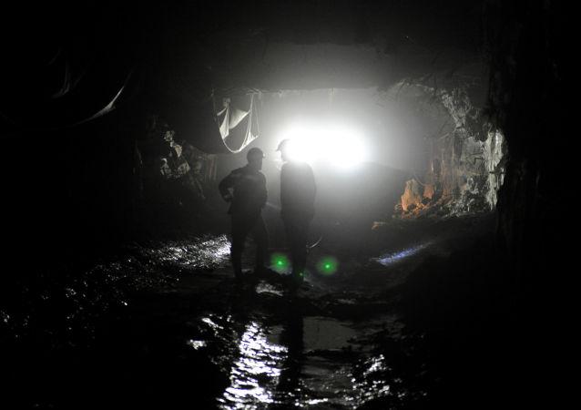 Una mina de Nornickel en Rusia