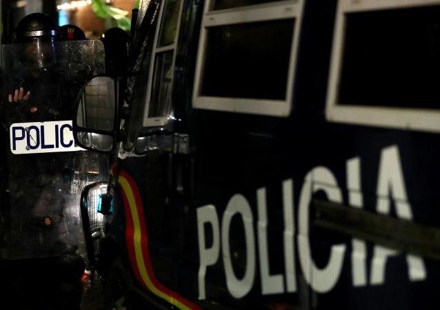 La Policía de Barcelona