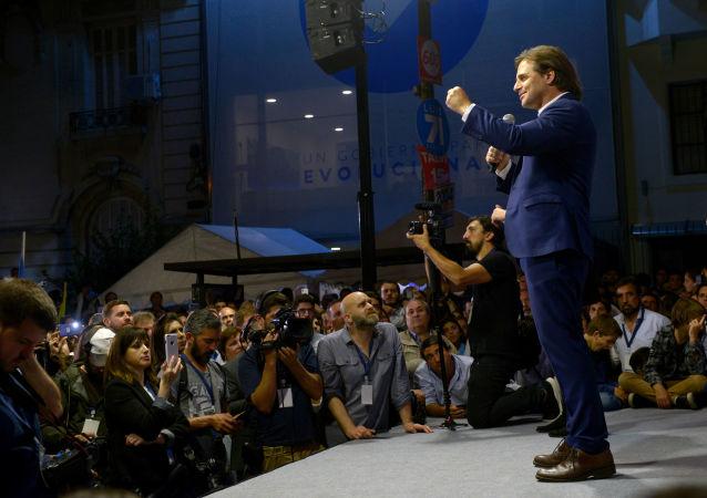 Luis Lacalle Pou, el candidato de las elecciones presidenciales en Uruguay