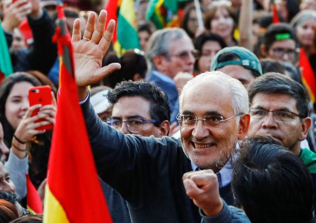 Carlos Mesa, expresidente de Bolivia